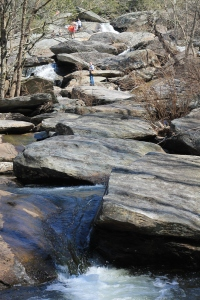 Hebron Rock Colony Falls