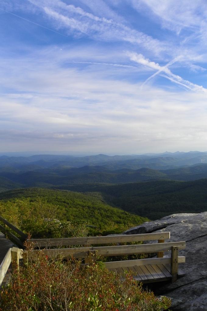 View from Rough Ridge boardwalk