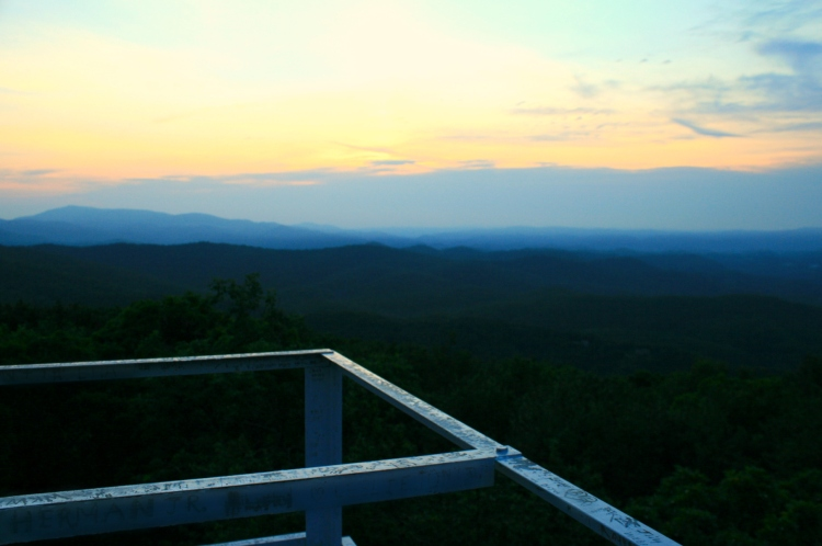 View from Flat Top Fire Tower