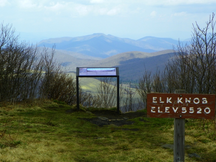 Elk Knob- North View