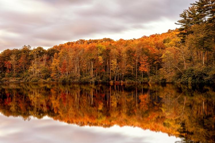 Fall on Bass Lake