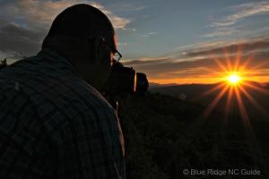 Victor Ellison at sunset
